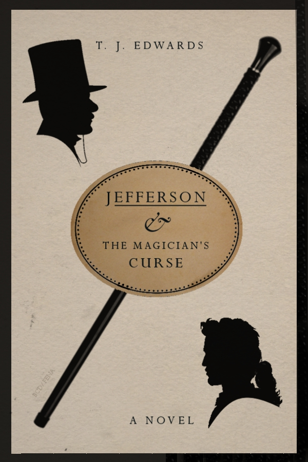 Jefferson & The Magician's Curse - Book Cover by Fena