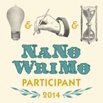 NaNoWriMo 2014 Participant!