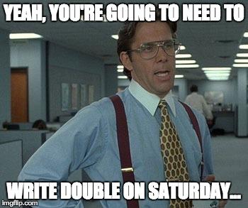 write double